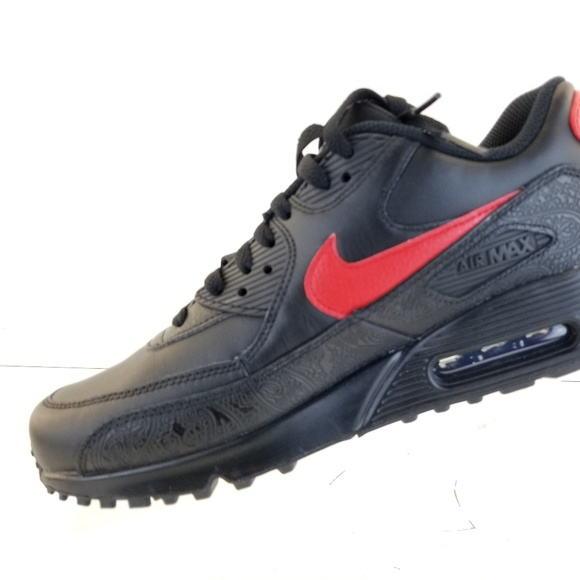 sports shoes 5c0d2 e7de2 Nike Air Max 90 F Chinese New Year Black Red Lab Q